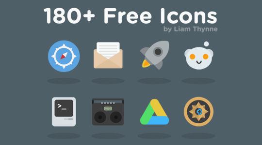16 Free & Fresh Icon Sets For Web Designers 4