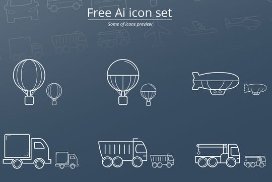 16 Free & Fresh Icon Sets For Web Designers 16