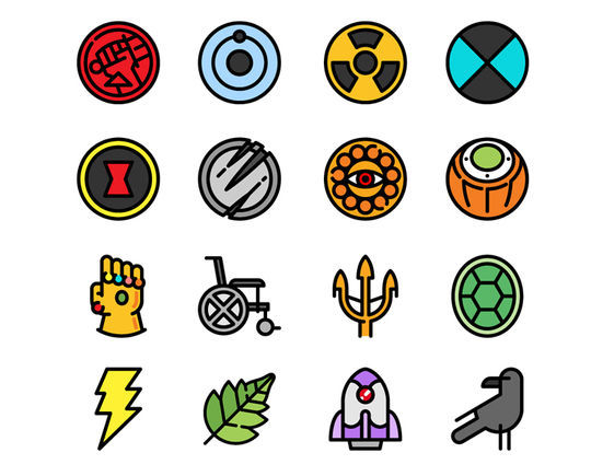 16 Free & Fresh Icon Sets For Web Designers 7
