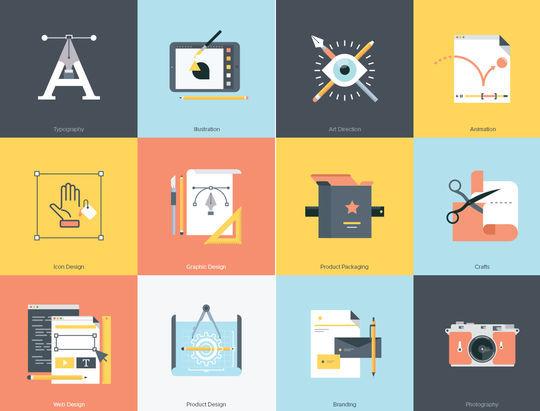 16 Free & Fresh Icon Sets For Web Designers 2