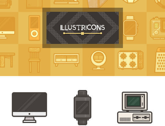 16 Free & Fresh Icon Sets For Web Designers 10