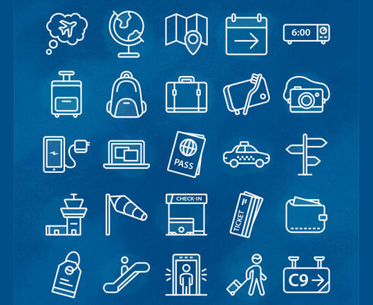 16 Free & Fresh Icon Sets For Web Designers 11