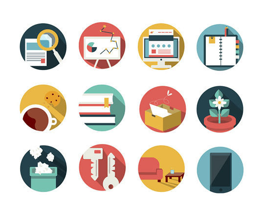 16 Free & Fresh Icon Sets For Web Designers 3