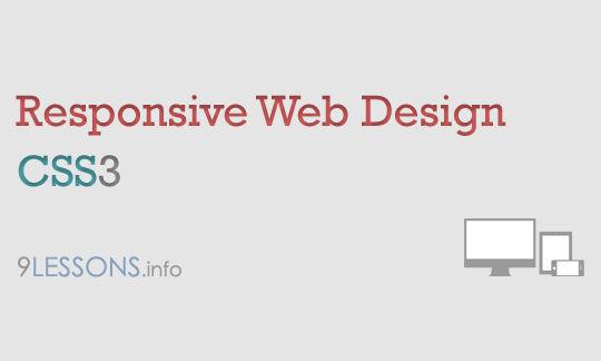 11 Responsive Web Design Tutorials 7