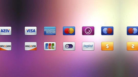 11 Free Credit Card Icon Sets For Online Shops 45