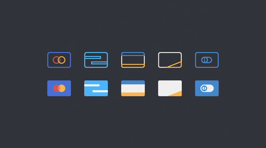 11 Free Credit Card Icon Sets For Online Shops 7