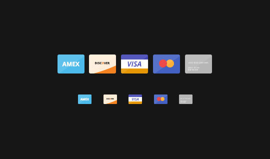 11 Free Credit Card Icon Sets For Online Shops 9