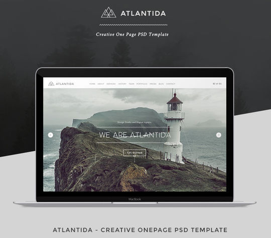 10 Fresh PSD Templates For Websites & Blogs 18