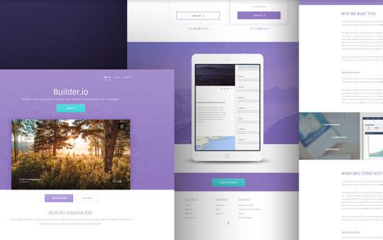 10 Fresh PSD Templates For Websites & Blogs 7