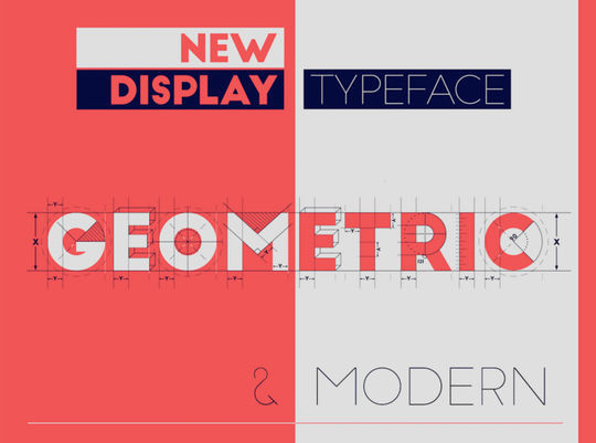 10 Free Geometric Fonts To Download 14