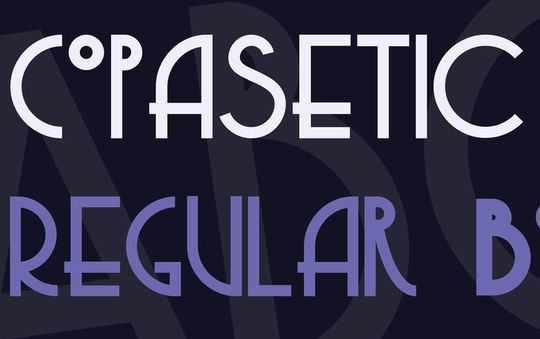 10 Free Geometric Fonts To Download 10