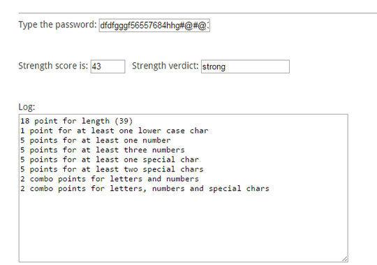 8 Best jQuery Password/Strength Meter Plugins 4