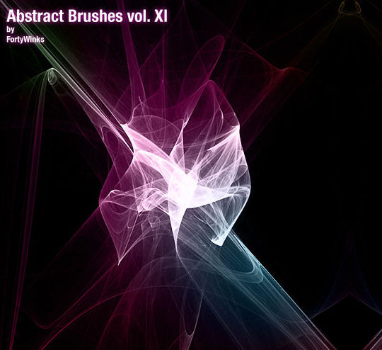 13 Free Photoshop Brush Packs For Complex Fractals 3