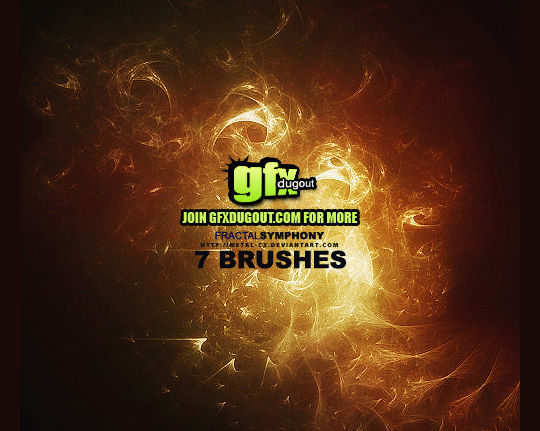 13 Free Photoshop Brush Packs For Complex Fractals 1