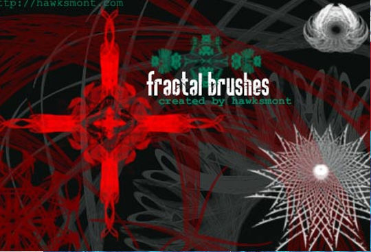 13 Free Photoshop Brush Packs For Complex Fractals 13