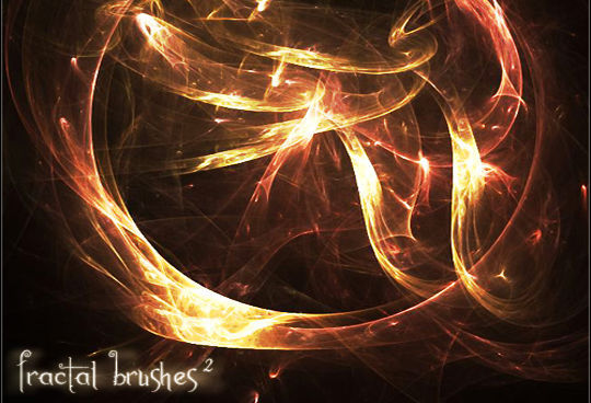 13 Free Photoshop Brush Packs For Complex Fractals 14