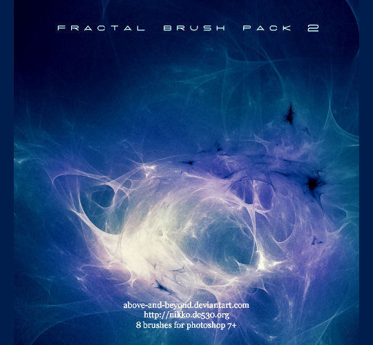 13 Free Photoshop Brush Packs For Complex Fractals 8