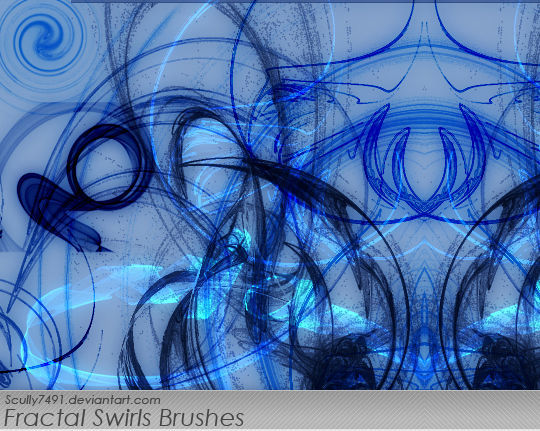 13 Free Photoshop Brush Packs For Complex Fractals 10