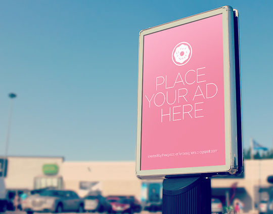 12 Free PSD Outdoor Advertising Billboard Mockups 12