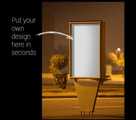 12 Free PSD Outdoor Advertising Billboard Mockups 3