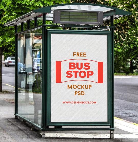 12 Free PSD Outdoor Advertising Billboard Mockups 5