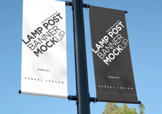12 Free PSD Outdoor Advertising Billboard Mockups 6