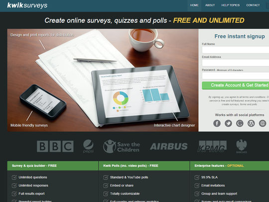 8 Best Free Survey Tools & Form Apps 7