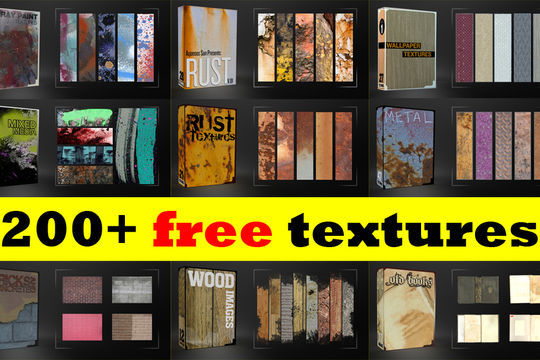 14 Free Quality Texture Packs For Your Next Project 2
