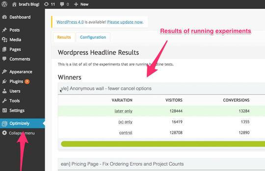 9 Free A/B Split Testing WordPress Plugins 3