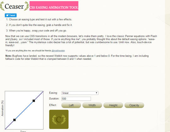 11 CSS3 Animation Tools For Developers 3