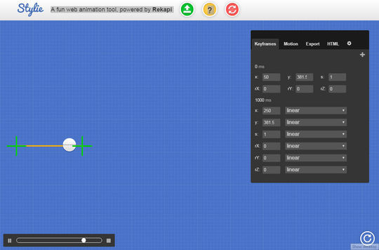 11 CSS3 Animation Tools For Developers 6