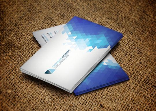 12 Corporate & Creative Business Card Mockups 2