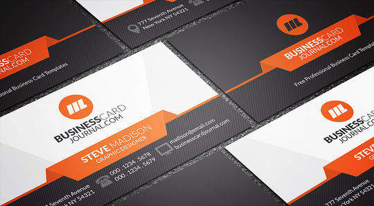 12 Corporate & Creative Business Card Mockups 12