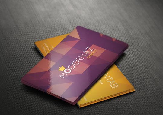 12 Corporate & Creative Business Card Mockups 5