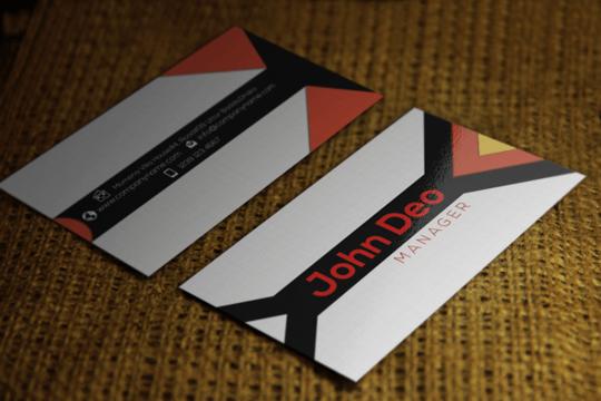 12 Corporate & Creative Business Card Mockups 86