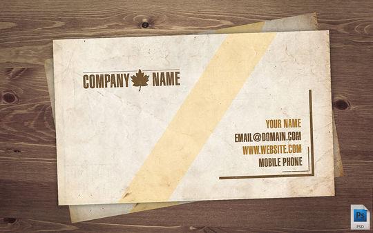 12 Corporate & Creative Business Card Mockups 10