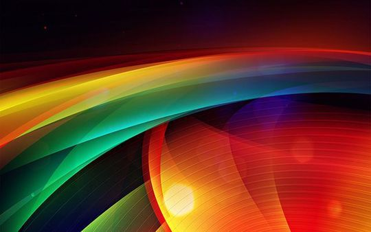 13 Abstract & Colorful Desktop Wallpapers 2