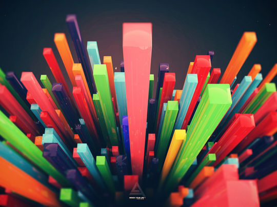13 Abstract & Colorful Desktop Wallpapers 10