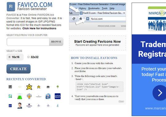 10 Free Favicon Generators For Web Designers 6