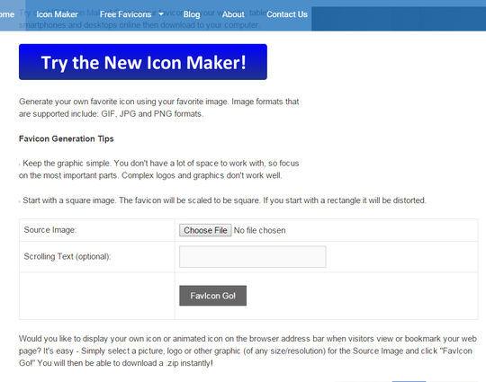 10 Free Favicon Generators For Web Designers 7