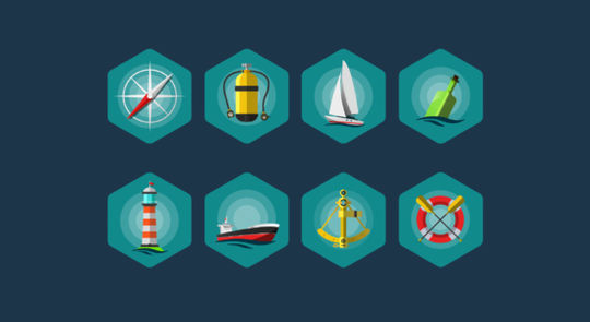 14 Free Creative & Detailed Icon Designs 12