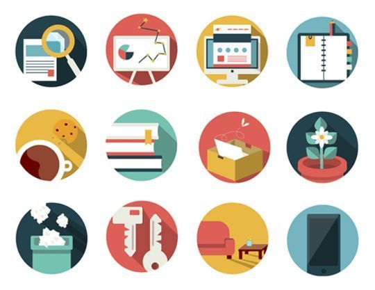 14 Free Creative & Detailed Icon Designs 14