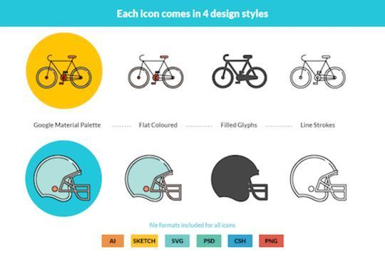 14 Free Creative & Detailed Icon Designs 9