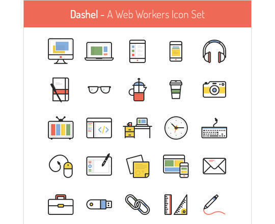 14 Free Creative & Detailed Icon Designs 15