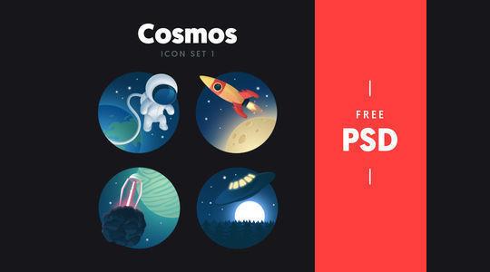 14 Free Creative & Detailed Icon Designs 4