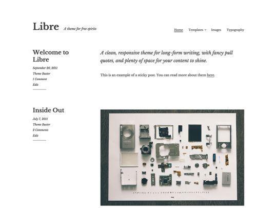 12 Free Small Business WordPress Themes 3