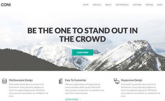 12 Free Small Business WordPress Themes 9