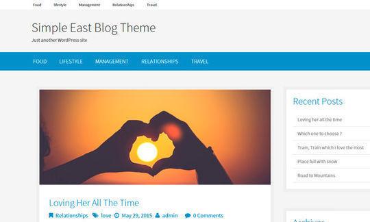 12 Free Small Business WordPress Themes 11