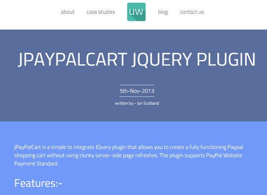 8 Free jQuery Shopping Cart Plugins 3