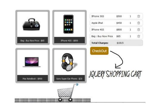 8 Free jQuery Shopping Cart Plugins 69